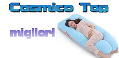I 10 migliori cuscini U pillow (a forma di U) su Amazon