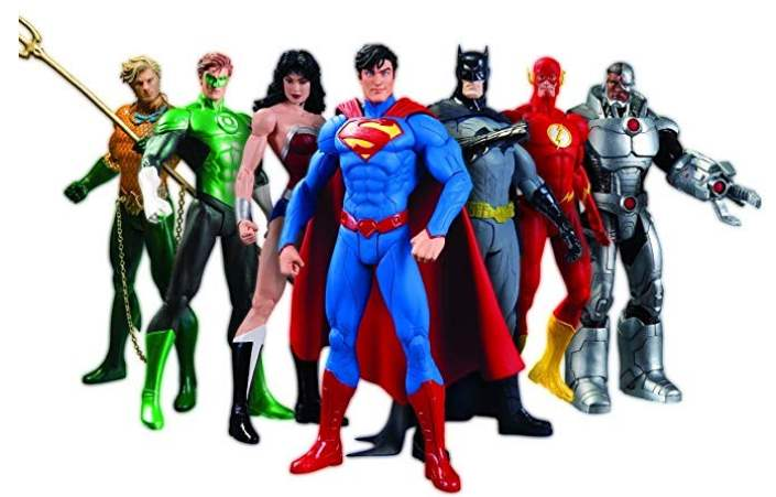 Le 10 migliori action figure di Justice League su Amazon